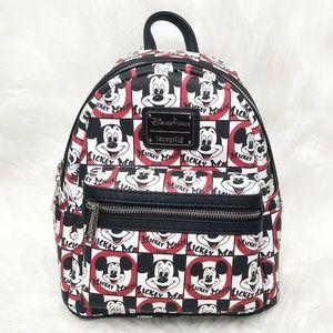 Disney Parks Loungefly Mickey Mouse Club Backpack